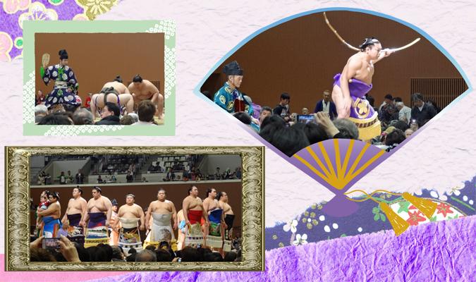 Sumo tournament in Kyoto