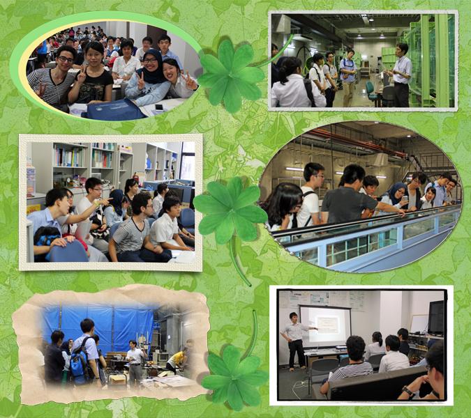 Katsura Campus Visit  [August]